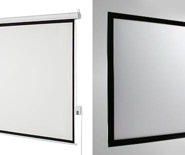 Motorized Screens vs Fixed-Frame Screens