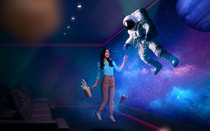 An immersive cinematic experience: It all starts with choosing the right projector  screen | Lumina Screens
