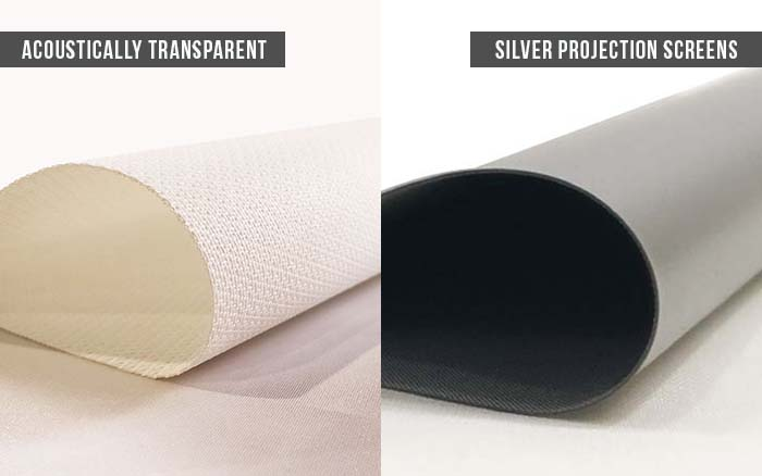 Types Of Projection Screen Fabrics